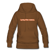 Hoodies & Sweatshirts ~ Women's Premium Hoodie ~ I PRAY THE ROSARY