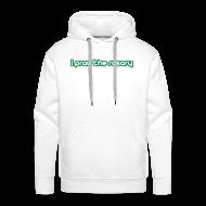 Hoodies & Sweatshirts ~ Men's Premium Hoodie ~ I PRAY THE ROSARY