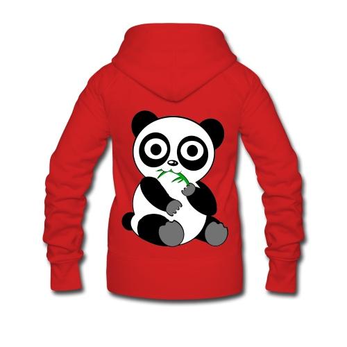 Veste femme panda - Veste à capuche Premium Femme