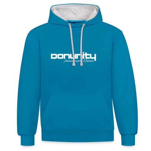 DonUnity Anniversary Hoodie - Kontrast-Hoodie