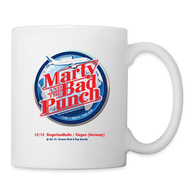 Marty And The Bad Punch - 1 Song 3 Minutes Tour 2015 Mug