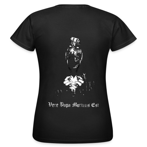 Halsfang - Vere Papa Mortuus Est - Horned Skull - female - T-shirt Femme