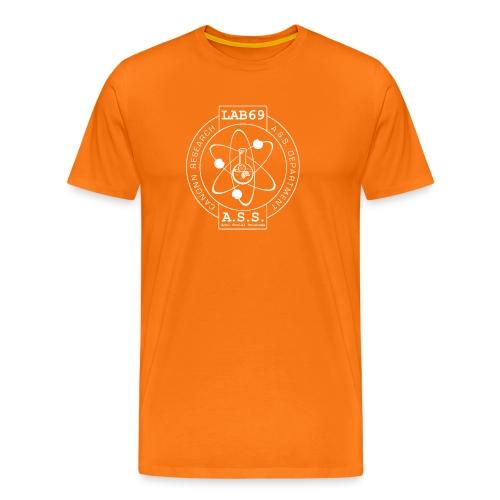 Lab 69 Tee in Anti Social Orange - Men's Premium T-Shirt