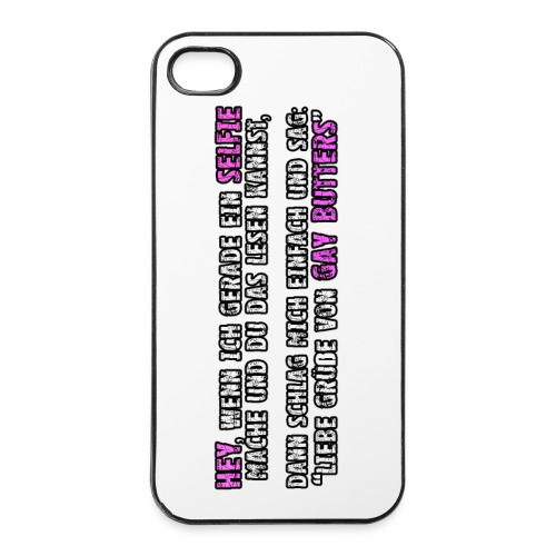 iPhone 4/4s Hülle - WATCH YOUR BACK - iPhone 4/4s Hard Case