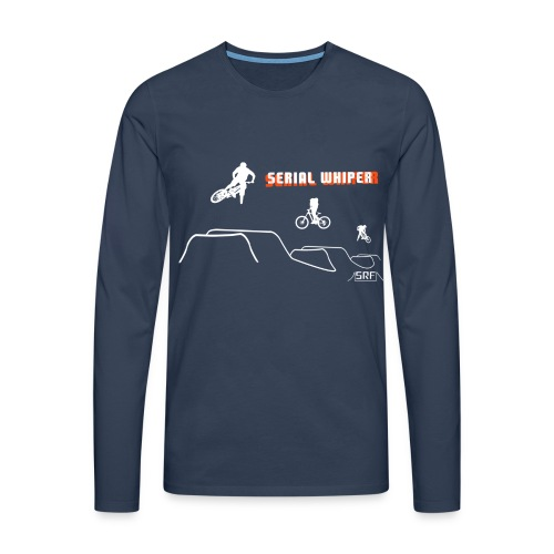 Serial whiper - T-shirt manches longues Premium Homme