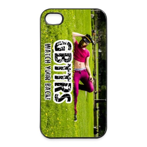 iPhone 4/4s - WATCH YOUR BACK - iPhone 4/4s Hard Case