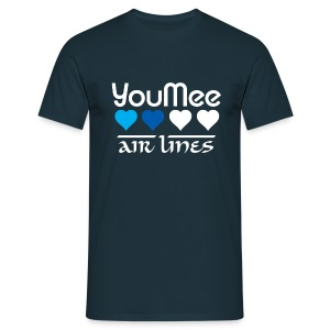 youmee airlines  - T-shirt Homme