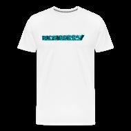 Tee shirts ~ T-shirt Premium Homme ~ TSHIRT BLANC HOMME BLUE BERRY