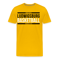 T-Shirts ~ Männer Premium T-Shirt ~ Ludwigsburg Basketball Barock Pirates