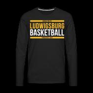 Langarmshirts ~ Männer Premium Langarmshirt ~ Ludwigsburg Basketball Barock Pirates Langarm
