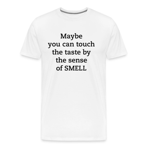 Maybe W SMELL - Men's Premium T-Shirt