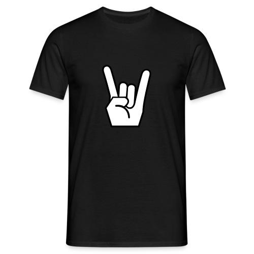 Rock On T-Shirt - Männer T-Shirt