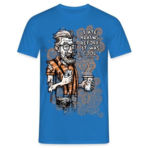 Zomb Hipster - Men's T-Shirt