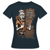 Tee shirts ~ Tee shirt Femme ~ Zomb Hipster