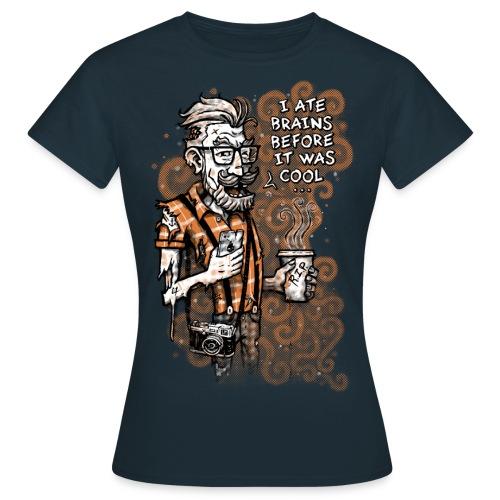 Zomb Hipster - Women's T-Shirt