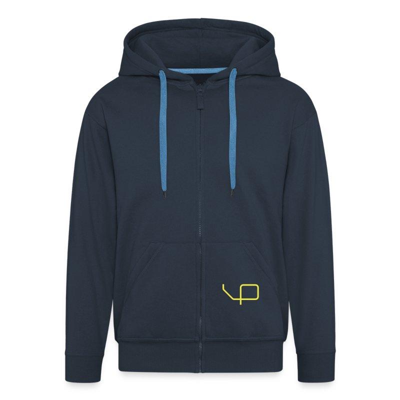BP-hoodie man darkblue - Männer Premium Kapuzenjacke