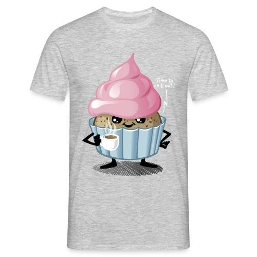 Taza y pastel - Camiseta hombre