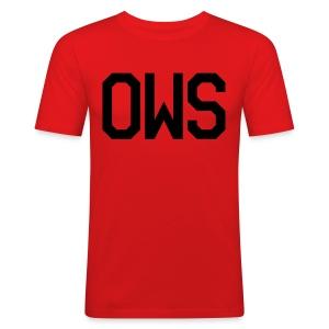OWS Male Basic Shirt - Men's Slim Fit T-Shirt