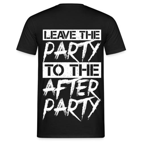 Afterparty - Mannen T-shirt