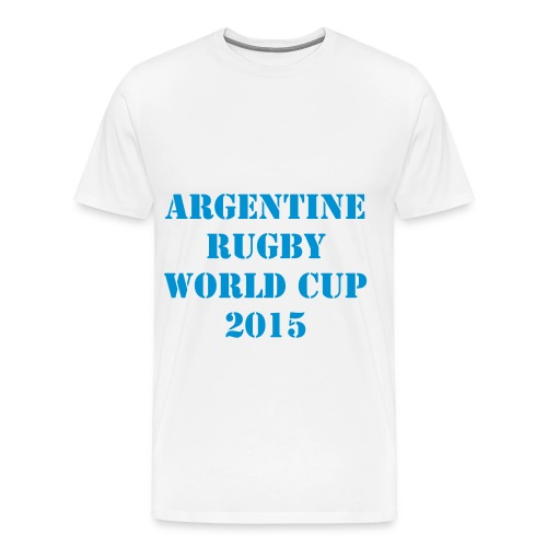 TEE SHIRT ARGENTINE RUGBY WORLD CUP 2015 -XV - T-shirt Premium Homme