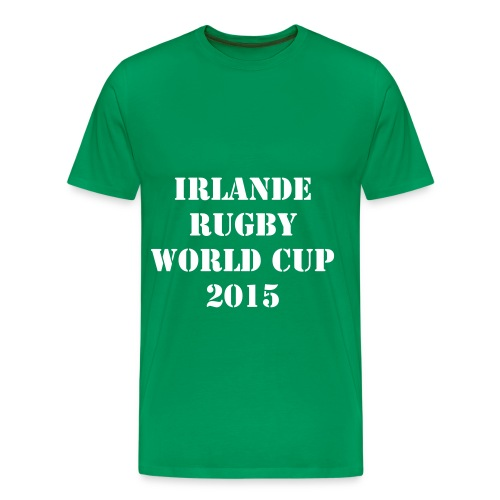 TEE SHIRT IRLANDE RUGBY WORLD CUP 2015 -XV - T-shirt Premium Homme