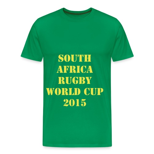 SOUTH AFRICA RUGBY WORLD CUP 2015 -XV - T-shirt Premium Homme