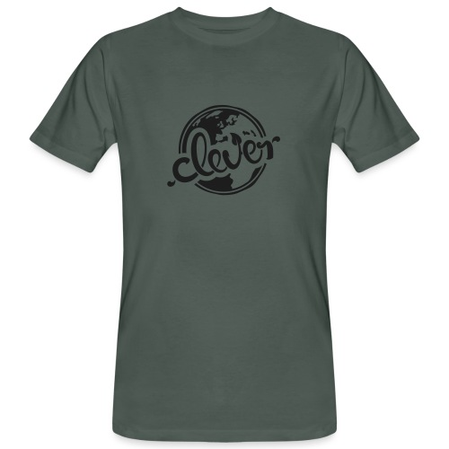 Clever Bio-T-Shirt mit Glitzer (m) - Männer Bio-T-Shirt