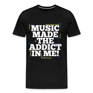 TFB | Music Made Addict - Men's Premium T-Shirt