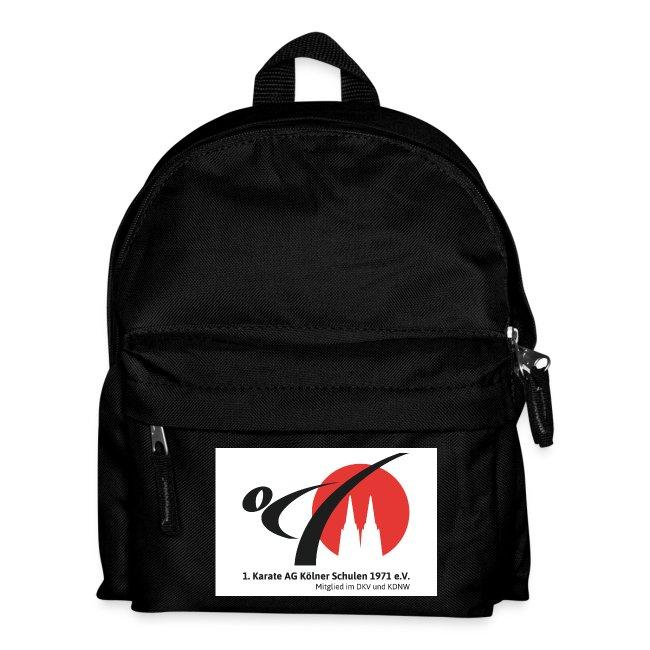 Kinder-Rucksack mit Vereinslogo