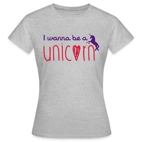 T-shirt femme Unicorn - T-shirt Femme