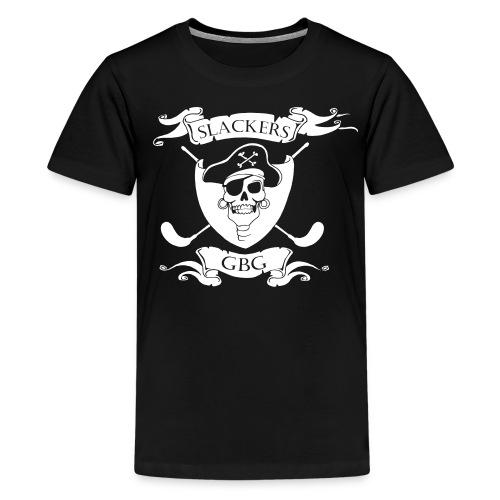 Slackers Tshirt tonåring - Premium-T-shirt tonåring