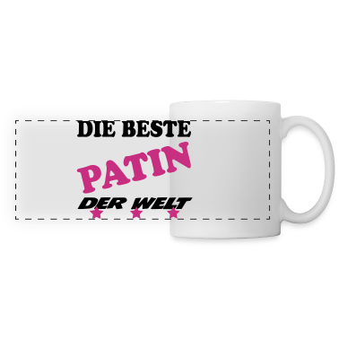 die beste patin der welt tassen zubeh r tasse spreadshirt. Black Bedroom Furniture Sets. Home Design Ideas