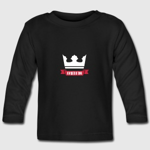 New queen - Langærmet babyshirt