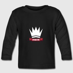 New king - Langærmet babyshirt