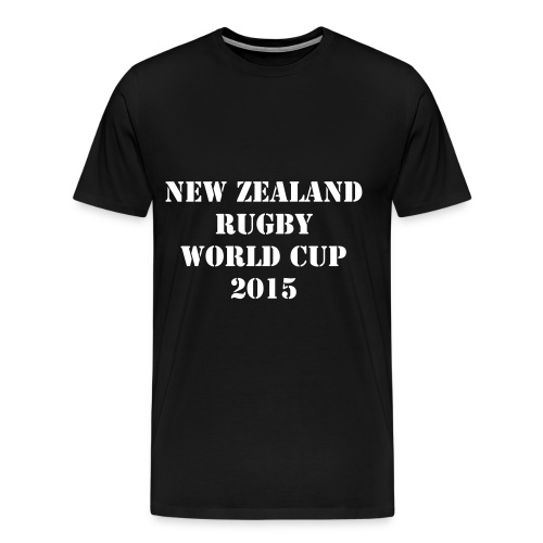 TEE SHIRT NEW ZEALAND RUGBY WORLD CUP - XV - T-shirt Premium Homme