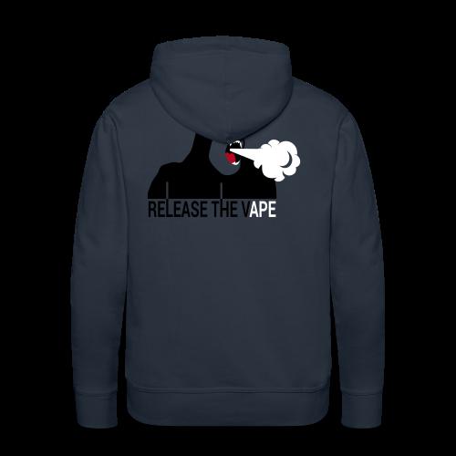 RELEASE THE VAPE - Sweat-shirt à capuche Premium pour hommes