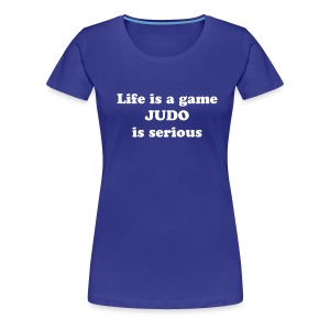 Life is a game Dame - Premium T-skjorte for kvinner