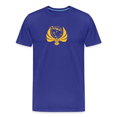 UGC Logo mit Backprint - Männer Premium T-Shirt