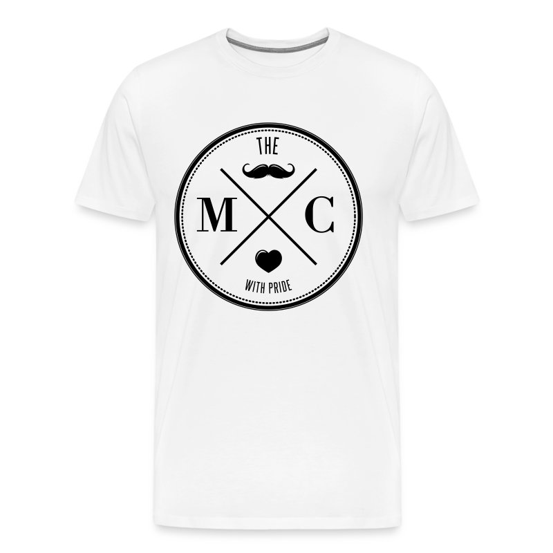 The Movember Moustache Club with pride T-Shirts - Männer Premium T-Shirt