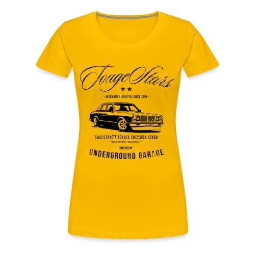 TougeStars Women's T-shirt - Premium T-skjorte for kvinner