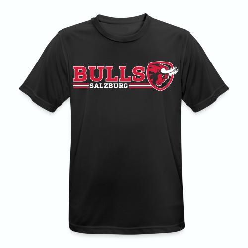 Salzburg Bulls Funktionsshirt - Männer T-Shirt atmungsaktiv