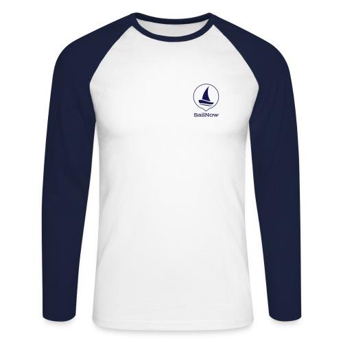 SailNow Longsleeve - Männer Baseballshirt langarm