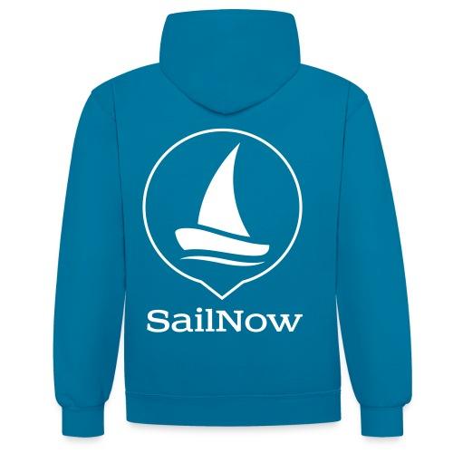 SailNow Skipper Kapuzenjacke - Kontrast-Hoodie