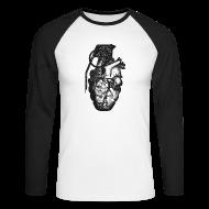 Langarmshirts ~ Männer Baseballshirt langarm ~ Artikelnummer 104014188