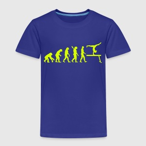 Evolution Turnen T-Shirts - Kinder Premium T-Shirt