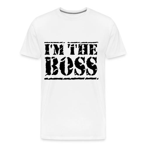 I´M THE BOSS - TShirt - Männer Premium T-Shirt