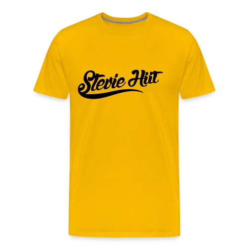 Stevie HIIT Logo - Men's Tee 1 - Men's Premium T-Shirt