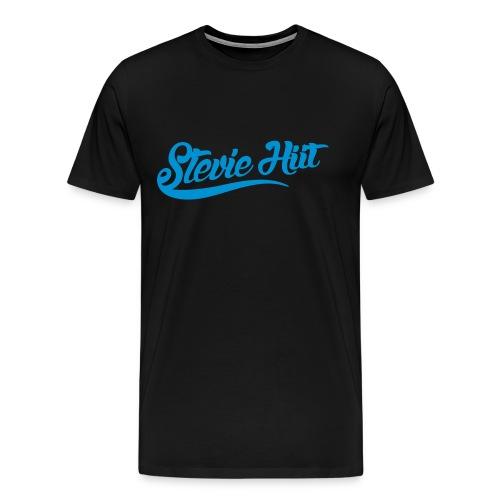 Stevie HIIT Logo - Men's Tee 2 - Men's Premium T-Shirt