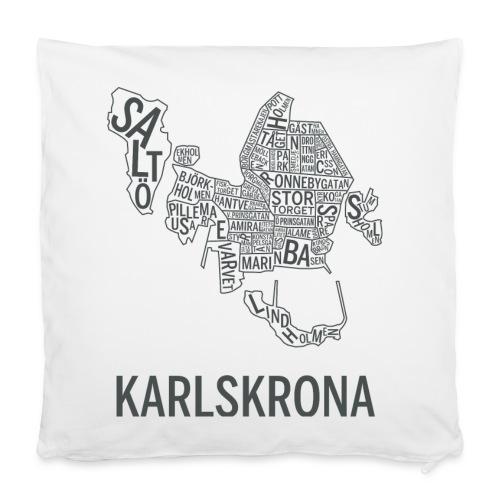 Karlskrona-kudde - Kuddöverdrag 40 x 40 cm