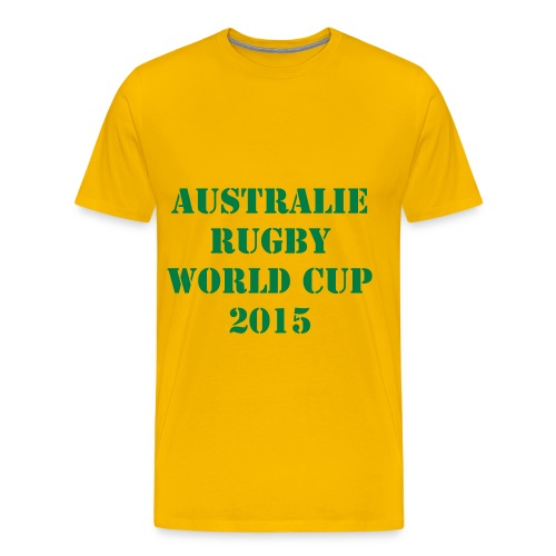 AUSTRALIE RUGBY WORLD CUP 2015 - XV - T-shirt Premium Homme